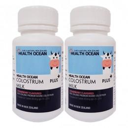 헬스오션 플러스 초유정제 60정 lgG20~25%,(1일 권장 섭취시 2240mg의 최고함량) 2통