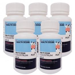 헬스오션 플러스 초유정제 60정 lgG20~25%,(1일 권장 섭취시 2240mg의 최고함량) 5통